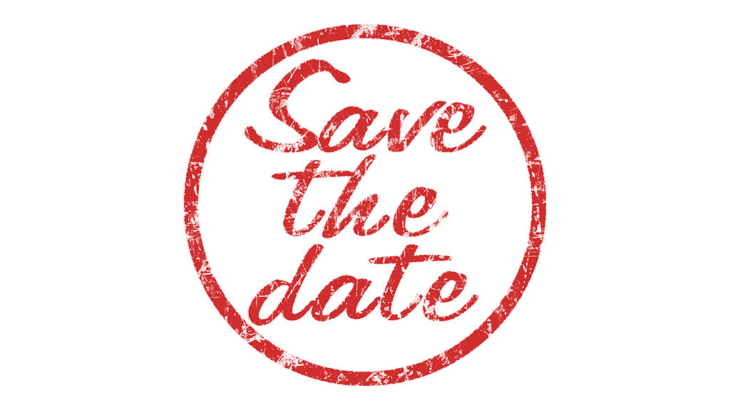 """Image - text / texte """"Save the date"""""""