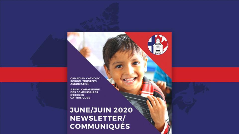 Photo - Newsletter June 2020 / communiqué juin 2020