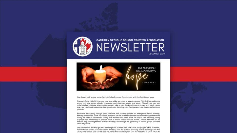 Photo - communiqué dec 2020 / Newsletter Dec 2020